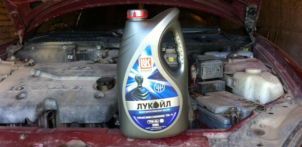 Промывочное масло для двигателя Лукойл
